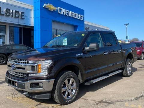 Certified Pre-Owned 2018 Ford F-150 4WD Crew Cab Pickup