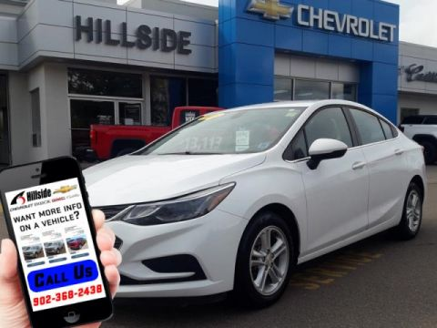 Certified Pre-Owned 2018 Chevrolet Cruze LT FWD 4dr Car