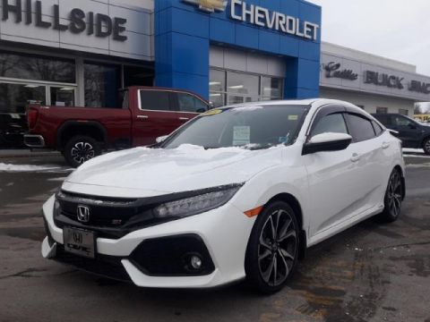 Certified Pre-Owned 2018 Honda Civic Sedan Si FWD 4dr Car