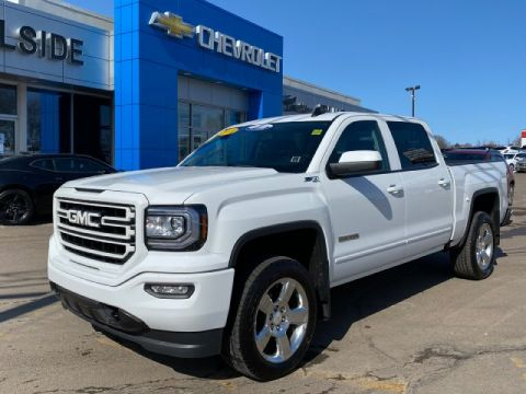 Certified Pre-Owned 2018 GMC Sierra 1500 SLE 4WD Crew Cab Pickup